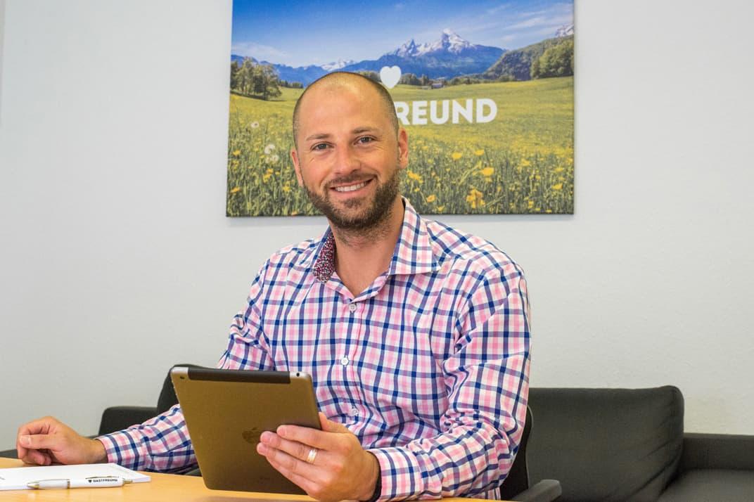 Marc Münster, CPO/ CEO der Gastfreund GmbH