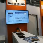 Gastfreund-Messestand auf der Internorga in Hamburg