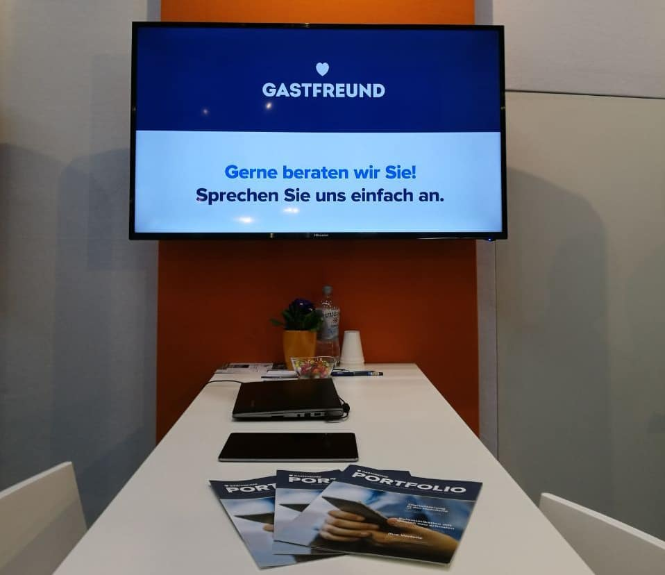 Gastfreund auf der Internorga in Hamburg_Messestand